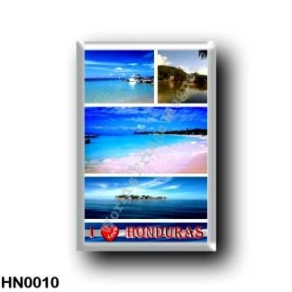 HN0010 America - Honduras - I Love
