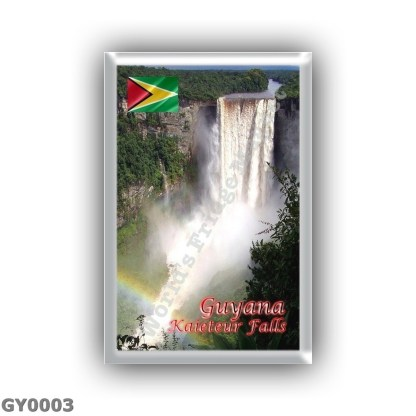 GY0003 America - Guyana - Kaieteur Falls