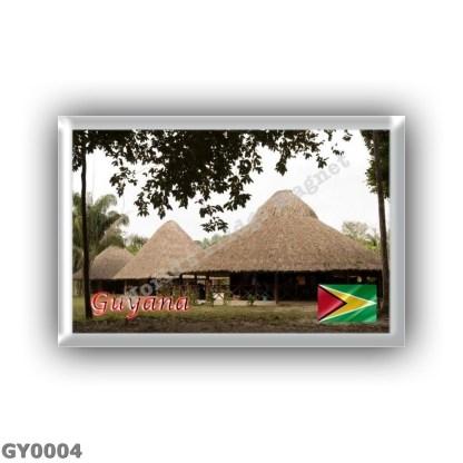 GY0004 America - Guyana - Houses