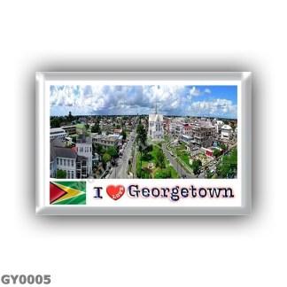 GY0005 America - Guyana - Georgetown - I Love