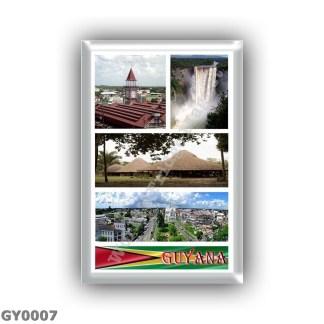 GY0007 America - Guyana - Mosaic