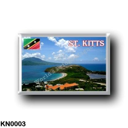 KN0003 America - Saint Kitts and Nevis - Saint kitts View