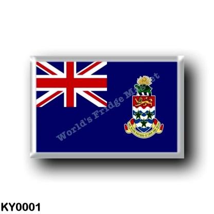KY0001 America - Cayman Islands - Flag