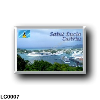 LC0007 America - Saint Lucia - Castries Harbor