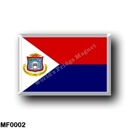 MF0002 America - Saint Martin - Flag