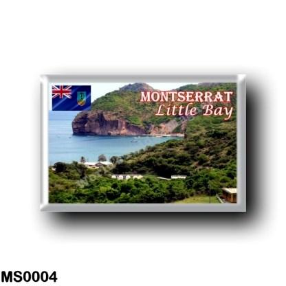 MS0004 America - Montserrat - Little Bay