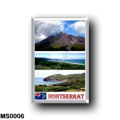 MS0006 America - Montserrat - Mosaic