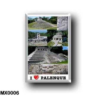 MX0006 America - Mexico - Chiapas - Palenque - I Love