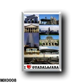 MX0008 America - Mexico - Guadalajara - I Love