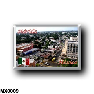 MX0009 America - Mexico - Yucatán - Mérida