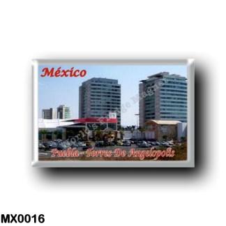 MX0016 America - Mexico - Puebla - Torres De Angelopolis