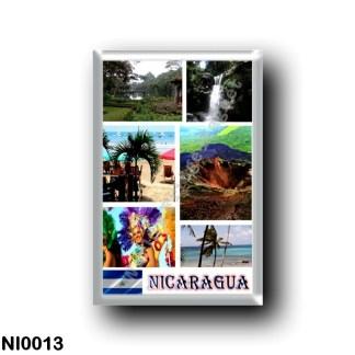 NI0013 America - Nicaragua - Mosaic