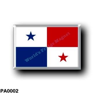 PA0002 America - Panama - Panamanian flag