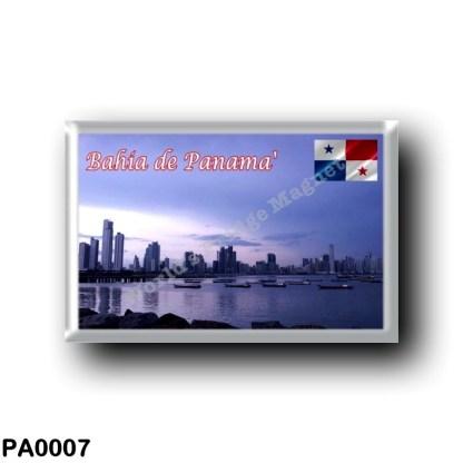 PA0007 America - Panama - Bahia de Panama