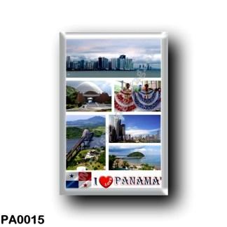 PA0015 America - Panama - I Love