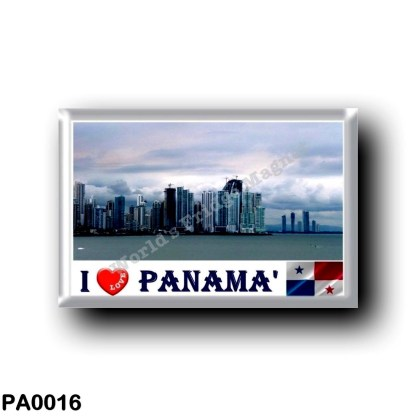 PA0016 America - Panama - Skyline I Love