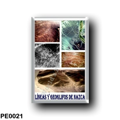 PE0021 America - Peru - Líneas y Geoglifos De Nazca - I Love