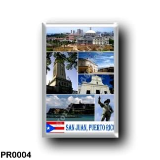 PR0004 America - Puerto Rico - San Juan Mosaic