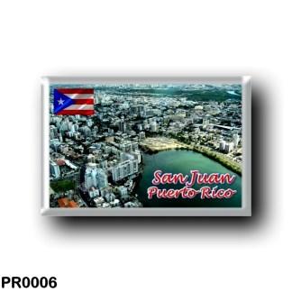 PR0006 America - Puerto Rico - San Juan Panorama