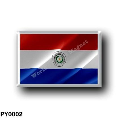 PY0002 America - Paraguay - Paraguayan - Waving