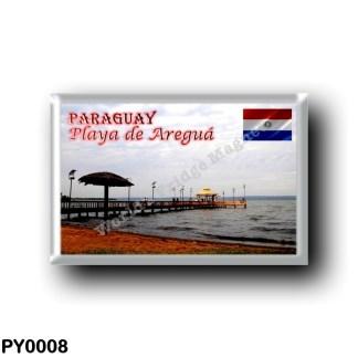 PY0008 America - Paraguay - Playa de Areguá