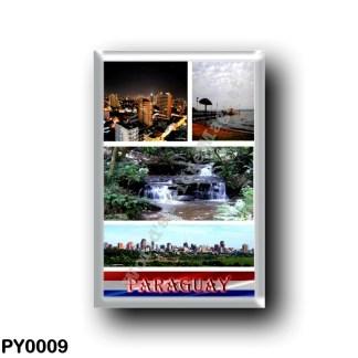 PY0009 America - Paraguay - Mosaic