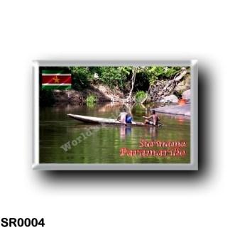 SR0004 America - Suriname - Gran Rio River