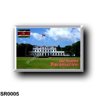 SR0005 America - Suriname - Paramaribo - Presidential Palace