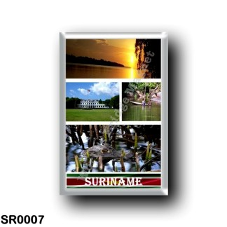 SR0007 America - Suriname - Mosaic