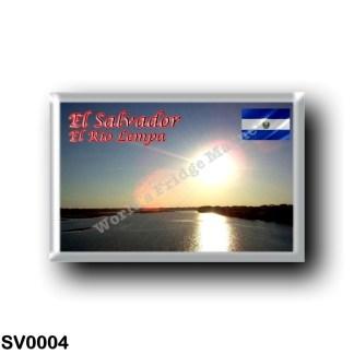 SV0004 America - el Salvador - el Río Lempa
