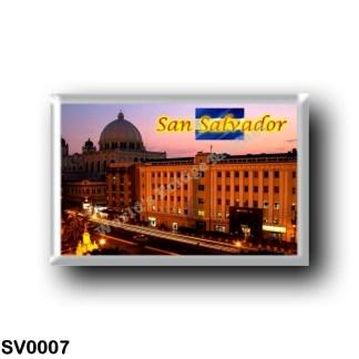 SV0007 America - el Salvador - San Salvador - Centro Histórico