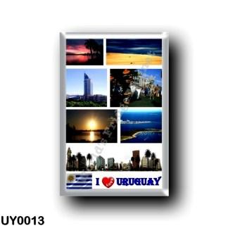 UY0013 America - Uruguay - I Love