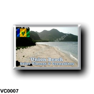 VC0007 America - Saint Vincent and the Grenadines - Union Beach