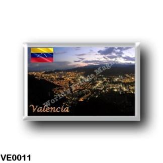 VE0011 America - Venezuela - Valencia - By Nigth