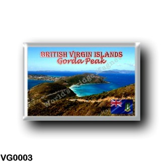 VG0003 America - British Virgin Islands - Gorda Peak