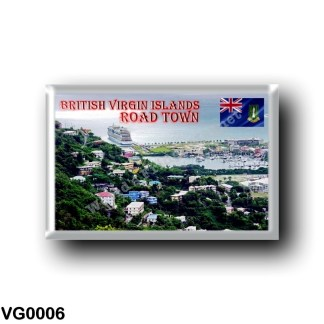 VG0006 America - British Virgin Islands - Road Town