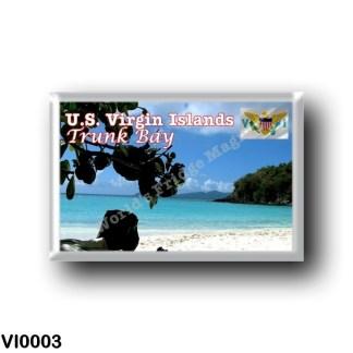 VI0003 America - American Virgin Islands - Trunk Bay