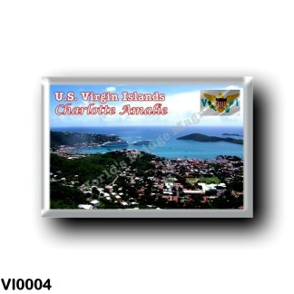 VI0004 America - American Virgin Islands - Charlotte Amalie - Saint Thomas the Islands' Capital