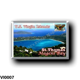 VI0007 America - American Virgin Islands - Magens Bay Saint Thomas