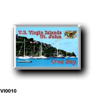 VI0010 America - American Virgin Islands - Saint John Cruz Bay