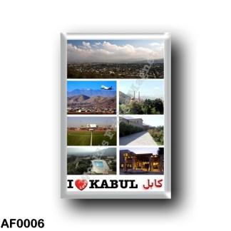 AF0006 Asia - Afghanistan - Kabul - I Love