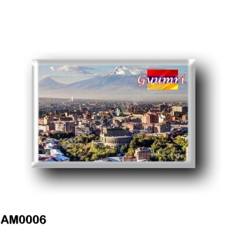 AM0006 Asia - Armenia - Gyumri Panorama