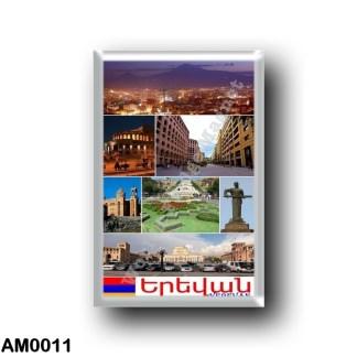 AM0011 Asia - Armenia - Yerevan - I Love