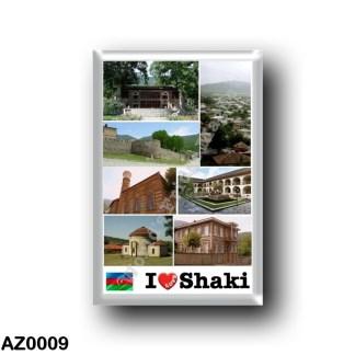 AZ0009 Asia - Azerbaijan - Shaki - I Love