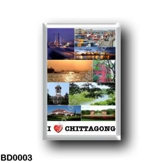 BD0003 Asia - Bangladesh - Chittagong - I Love