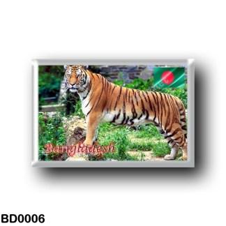 BD0006 Asia - Bangladesh - The Royal Bengal Tiger