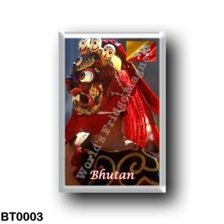 BT0003 Asia - Bhutan - Bhutan - Masked dance