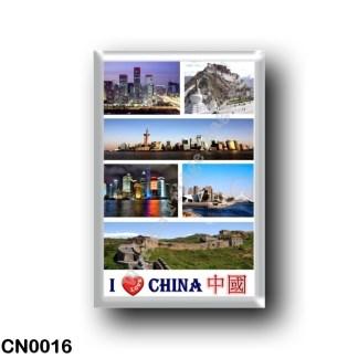 CN0016 Asia - China - I Love