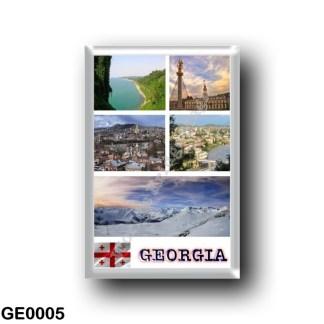 GE0005 Asia - Georgia - Mosaic