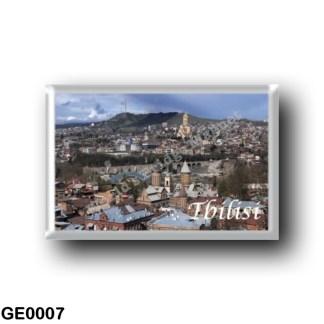 GE0007 Asia - Georgia - Tbilisi - Panorama